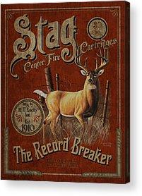 Deer Hunting Acrylic Prints