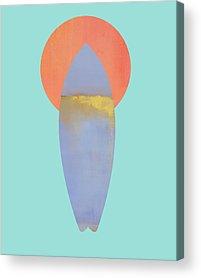 Surf Boards Acrylic Prints