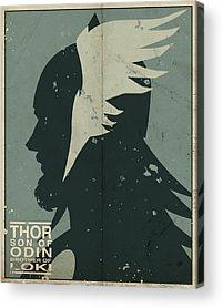Thor Acrylic Prints