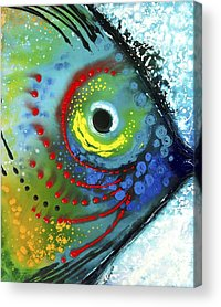 Colorful Tropical Fish Acrylic Prints