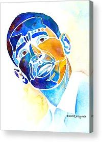 Obama Acrylic Prints