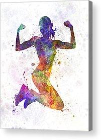 Training Acrylic Prints