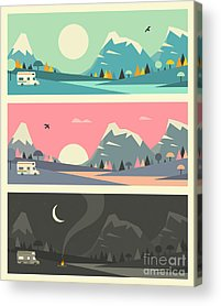 Rv Acrylic Prints