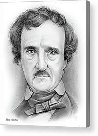 Poe Acrylic Prints
