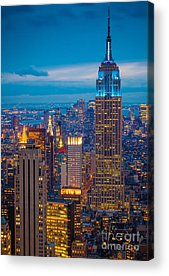 Building Acrylic Prints