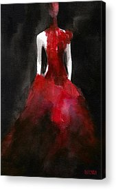 Red And White Acrylic Prints