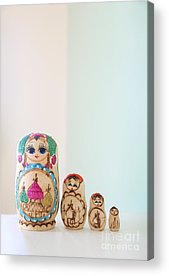 Russian Dolls Acrylic Prints
