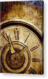 Clock Acrylic Prints