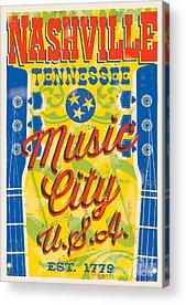 Tennessee Acrylic Prints