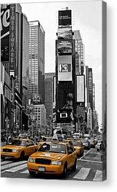 City Scene Acrylic Prints