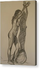 Designs Similar to Standing Nude 1