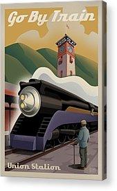 Train Acrylic Prints