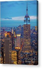 New York Acrylic Prints