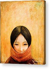 Asian Girl Acrylic Prints
