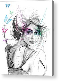 Fairy Acrylic Prints
