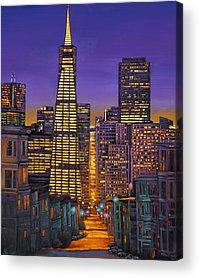 City Scape Acrylic Prints