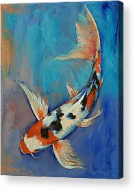 Butterfly Fish Acrylic Prints
