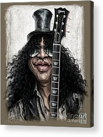 Rock N Roll Guns N Roses Rock Acrylic Prints