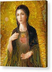 Mary Acrylic Prints