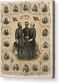 Civil War Acrylic Prints