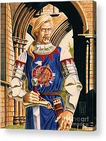 Sir Dinadan Acrylic Prints