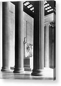 Lincoln Memorial Acrylic Prints
