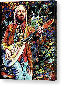Tom Petty Acrylic Prints
