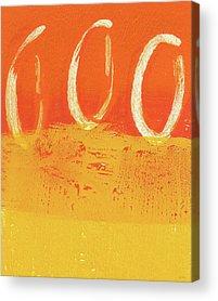 Abstract Sun Acrylic Prints