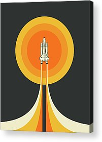 Space Ship Acrylic Prints