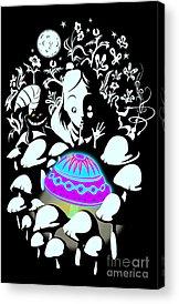 Cheshire Acrylic Prints