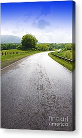 Scenic Highway Acrylic Prints