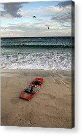 Kiteboarding Acrylic Prints