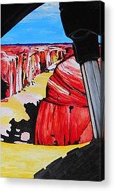 Slickrock Paintings Acrylic Prints