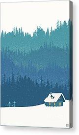 Woods Acrylic Prints