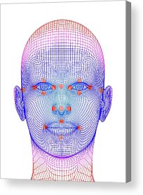 Biometrics Acrylic Prints