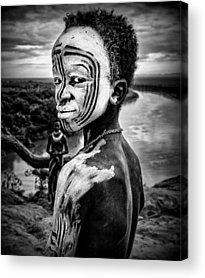 Indigenous People Acrylic Prints