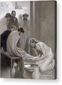 Biblical Scene Acrylic Prints