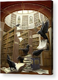 Library Acrylic Prints