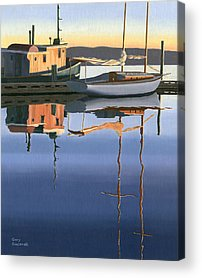 Tugboat Acrylic Prints