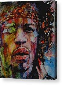 Hall Of Fame Paintings Acrylic Prints