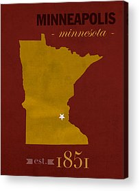 University Of Minnesota Acrylic Prints