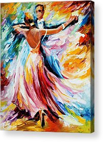 Ballroom Paintings Acrylic Prints