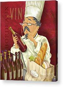 Chefs Acrylic Prints