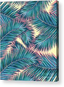Tropical Leaves Acrylic Prints