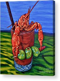 Bloody Mary Acrylic Prints
