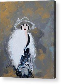 Susan Paintings Acrylic Prints