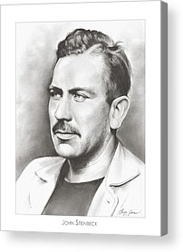 Author Drawings Acrylic Prints