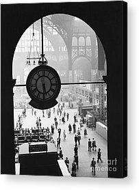 Train Station Acrylic Prints