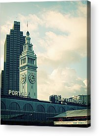 San Francisco Bay Acrylic Prints