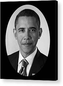 Barack Obama Acrylic Prints